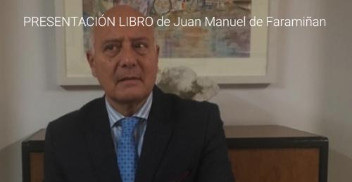 PRESENTACIÓN DEL LIBRO DE JUAN MANUEL DE FARAMIÑAN.